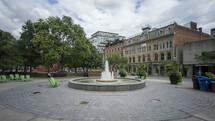 fountain in Toronto, Canada Timelapse