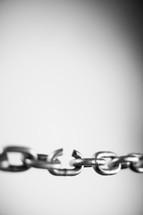 broken link in a chain