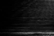 Minimal black texture background garage door
