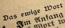 Bible verse in German