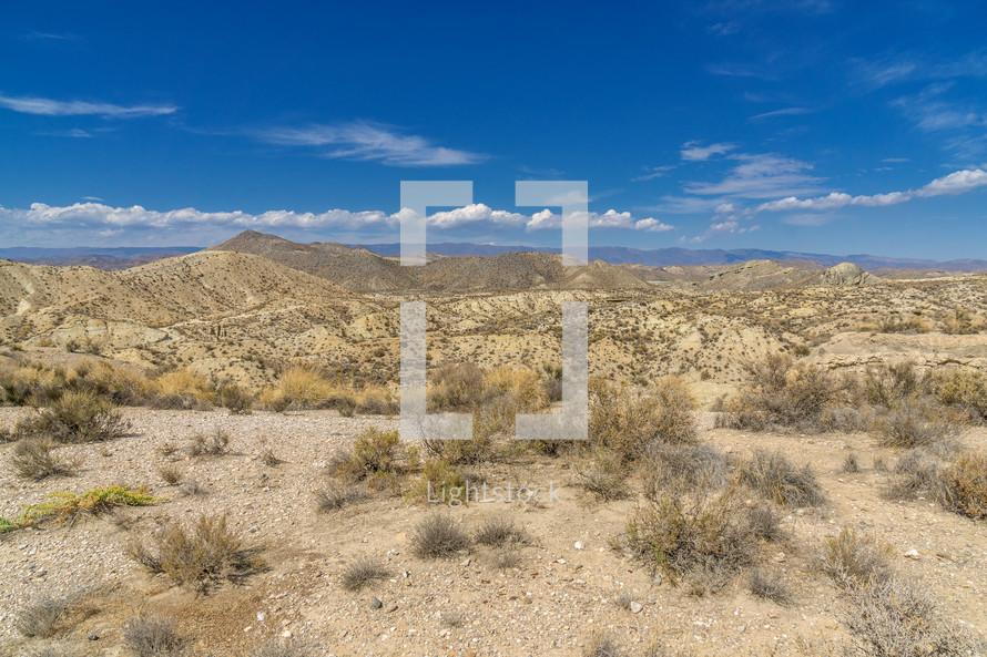 rugged desert mountains