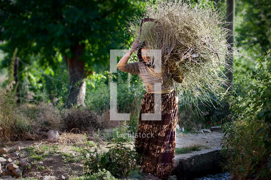 Kurdish woman, Muslim, southeast Turkey