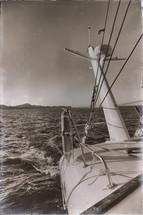 radar on a catamaran