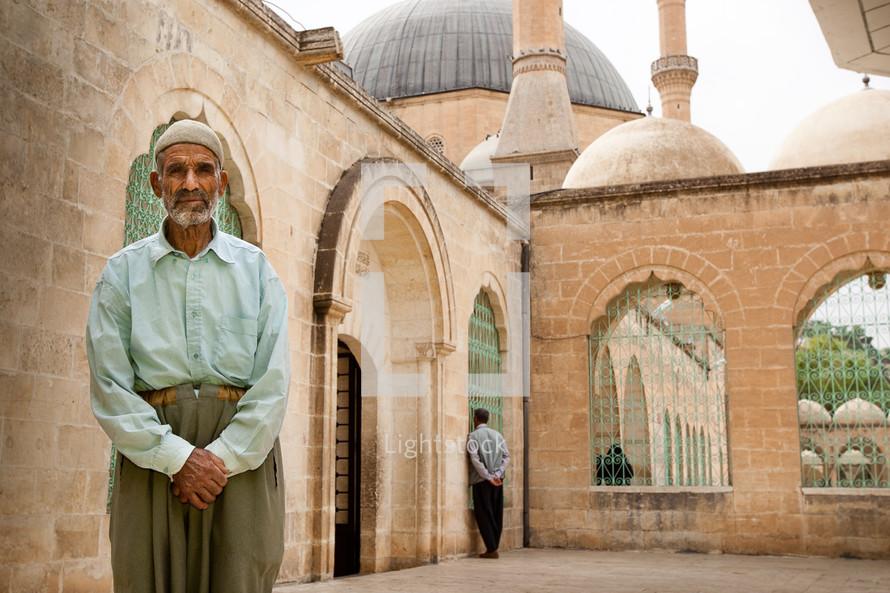 Muslim man at Temple
