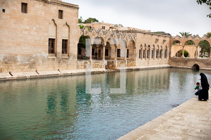 Abrham's pond, Ottoman architecture