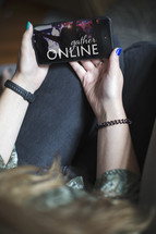 online worship from home