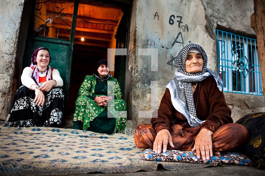 Traditional Turkish women