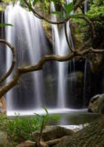 Chinese Gardens Waterfall