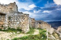 ancient stone walls