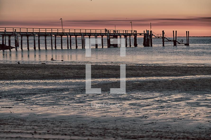 pier at a beach
