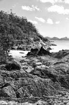 rocky Australian shore