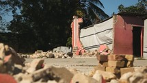 Earthquake Haiti rubble