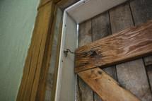 latched doorway