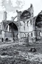 Antique ruins north of Cyprus