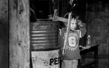 child in Toraja