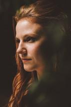 woman's face closeup