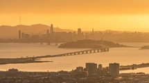 San Francisco skyline from Oakland