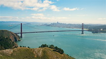 The San Francisco bay in day