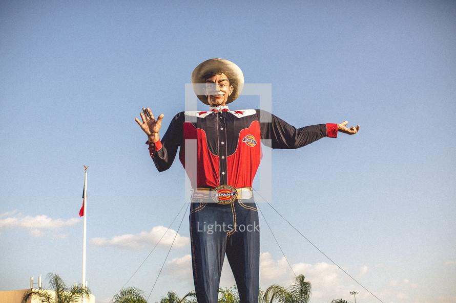 Big Tex - cowboy at fair