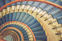 spiral, helix, staircase, steps