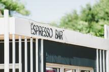 Espesso bar sign