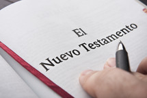 Hands on Spanish Bible; El Nuevo Testamento
