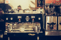 cappuccino and expresso machine