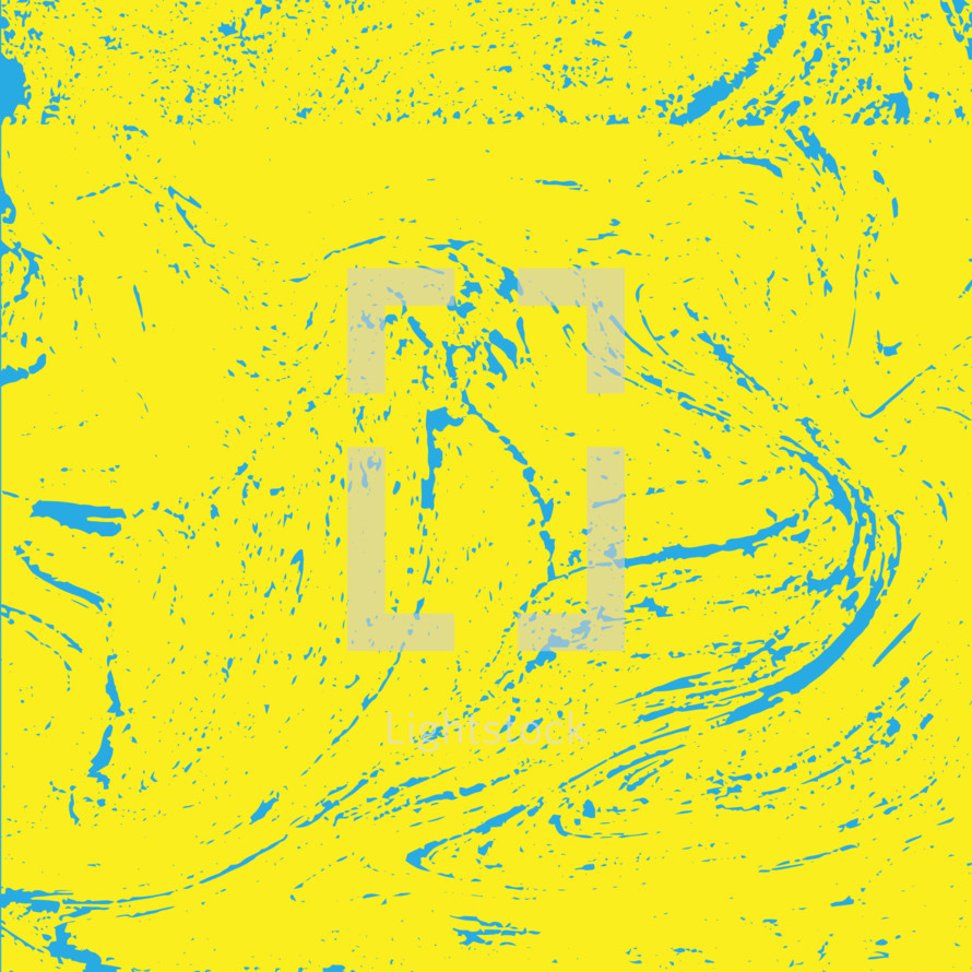 blue and yellow swirl background