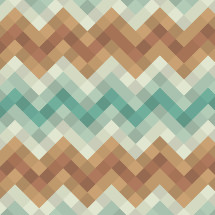 modern geometric chevron pattern.