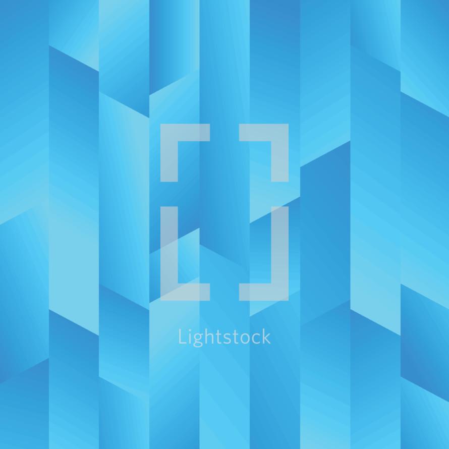 blue prismic background