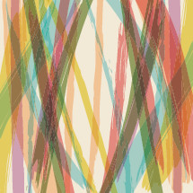 abstract painted lines illustration.