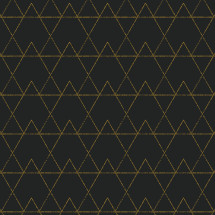 abstract triangular black and gold background