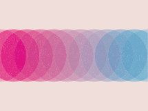 abstract color circles background