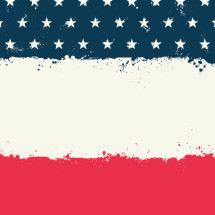 American flag background illustration.