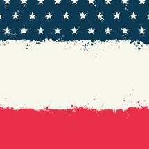 American flag background illustration.