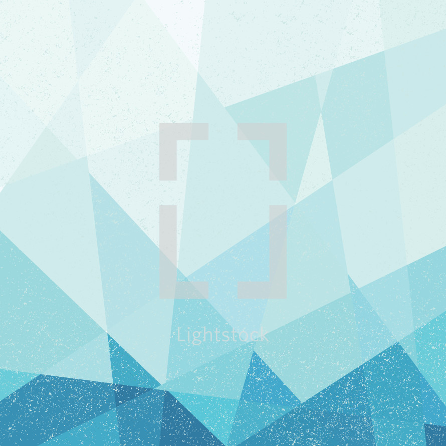 blue poly grunge background