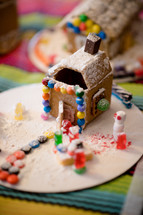 candy and gingerbread houses