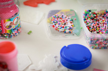 meltable plastic beads