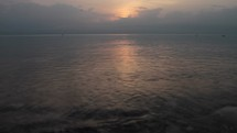 Compilation of various sunrise shots in Israel and the Sea of Galilee including a time lapse of a sunrise over a city