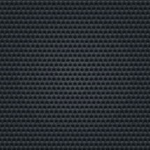 black texture background. Black perforated metal surface. Dark punched texture with holes in the form of circles. Seamless pattern for a background. The graphic element saved as a vector illustration in the EPS file format for used in your design projects.