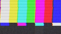 Monoscopio; television test pattern.