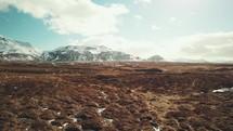 extinct volcano in Iceland