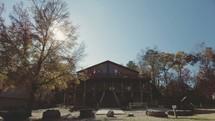 time-lapse of buffalo center lodge
