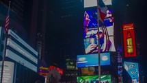 Times square  TIMELAPSE