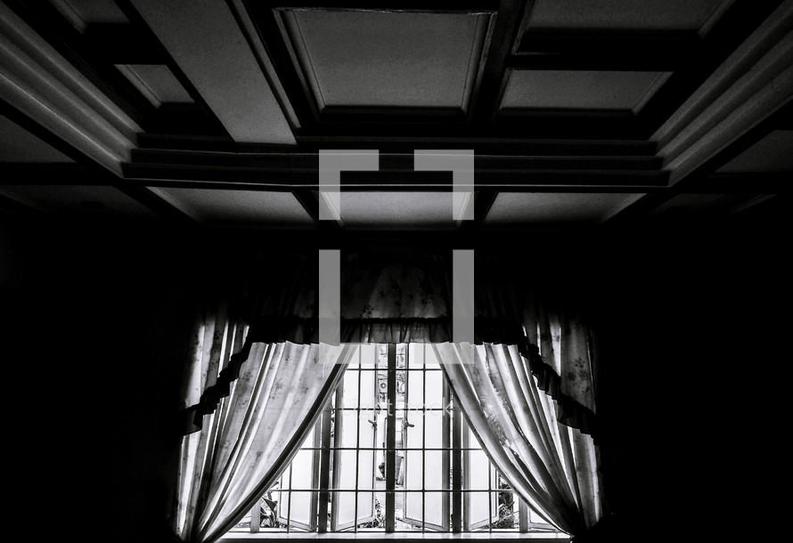 curtains and window