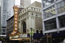 Chicago theatre front