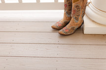 Woman's cowboy boots