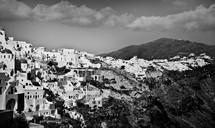 mountain middle eastern village