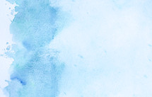 blue water color background