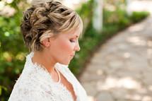 Profile of a bride